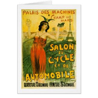 El DES de Palais trabaja a máquina el Champ de Tarjeta De Felicitación
