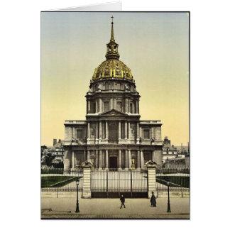 El DES Invalides, vintage Phot de la bóveda de Par Tarjeta