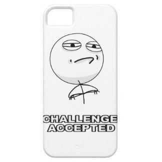 El desafío aceptó el caso de Meme del iPhone 5 iPhone 5 Carcasas