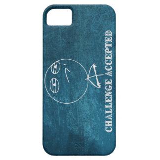 El desafío aceptó el caso del iPhone 5 iPhone 5 Carcasas
