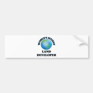 El desarrollador más atractivo de la tierra del etiqueta de parachoque