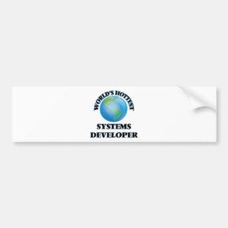 El desarrollador más caliente de los sistemas del etiqueta de parachoque