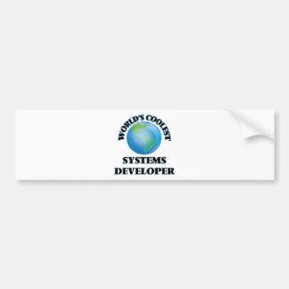 El desarrollador más fresco de los sistemas del etiqueta de parachoque