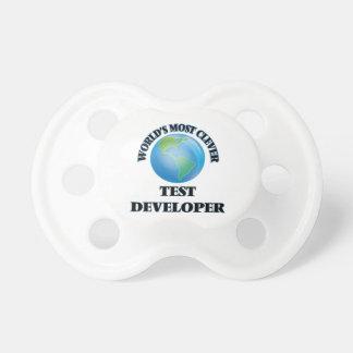 El desarrollador más listo de la prueba del mundo chupete de bebé
