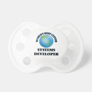 El desarrollador más listo de los sistemas del chupetes de bebe