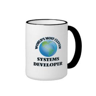 El desarrollador más listo de los sistemas del taza a dos colores