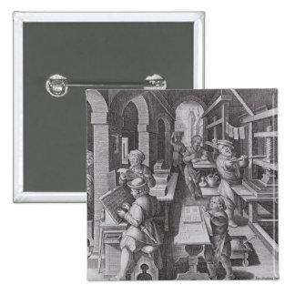 El desarrollo de la impresión pin cuadrado