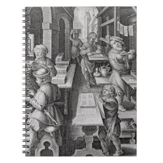 El desarrollo de la impresión, platea 5 de 'Nova c Note Book