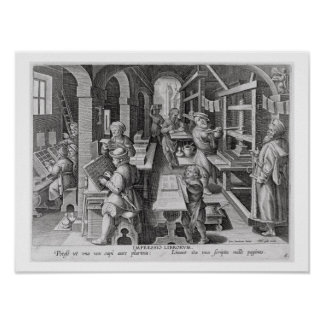 El desarrollo de la impresión, platea 5 de 'Nova c Posters