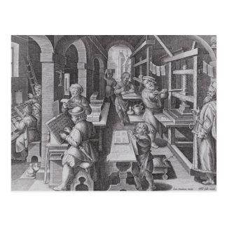 El desarrollo de la impresión tarjetas postales