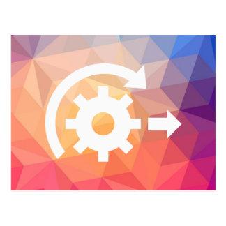 El desarrollo pone al día el icono postal