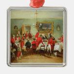 El desayuno de la caza, Pasillo del soltero, 1836 Ornamentos Para Reyes Magos