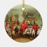 El desayuno de la caza, Pasillo del soltero, 1836 Ornatos
