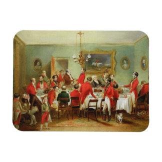 El desayuno de la caza, Pasillo del soltero, 1836  Iman De Vinilo