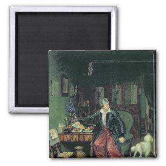 El desayuno del aristócrata, 1849-50 iman para frigorífico