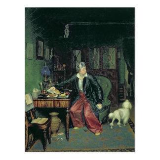 El desayuno del aristócrata, 1849-50 tarjetas postales