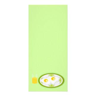 el desayuno del platillo_Vector_Clipart eggs orang Lona Personalizada