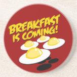 ¡El desayuno está viniendo! Posavasos Manualidades