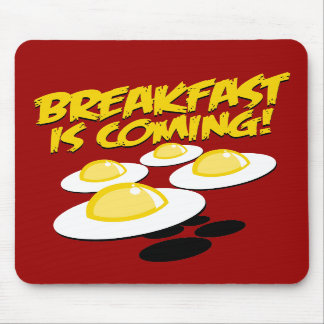 ¡El desayuno está viniendo! Tapetes De Ratones