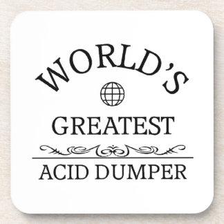 El descargador ácido más grande del mundo posavaso