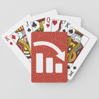 El descendiente representa el pictograma barajas de cartas
