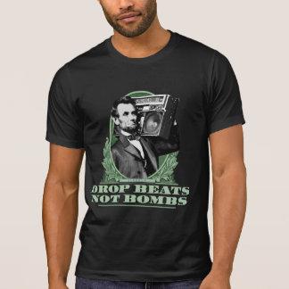 El descenso bate no la cita de Abe Lincoln de las  Camiseta