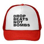 El descenso bate no las bombas 4 gorras de camionero