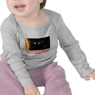 ¡El descenso de rango de Plutón de la protesta de  Camisetas