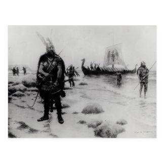 El descubrimiento de América de Leif Eriksson Postal