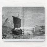 El descubrimiento de Groenlandia Tapete De Raton