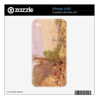 El descubrimiento del cuerpo de Tipu en la puerta  Skins Para iPhone 4S