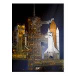 El descubrimiento del transbordador espacial en la tarjetas postales