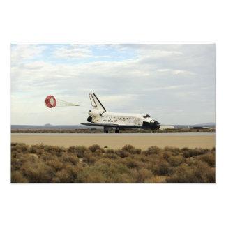 El descubrimiento del transbordador espacial fotografía
