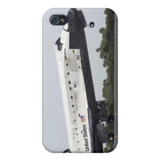 El descubrimiento del transbordador espacial iPhone 4 fundas