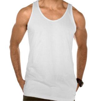 El DESEAR las camisetas sin mangas, blancas