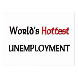 El desempleo más caliente del mundo postal