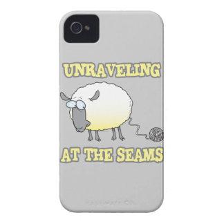 el desenredar en el dibujo animado divertido de Case-Mate iPhone 4 coberturas
