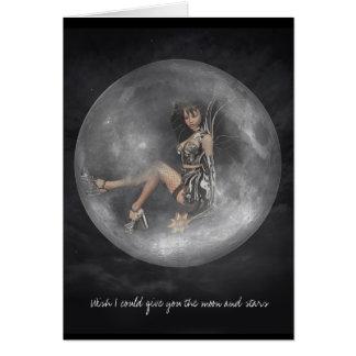El deseo I podría darle la luna y… Felicitación