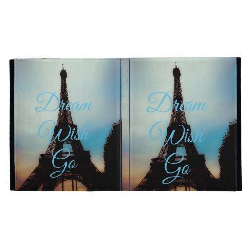 El deseo ideal va caja del folio del iPad de Casea