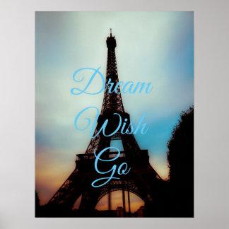 El deseo ideal va impresión del poster