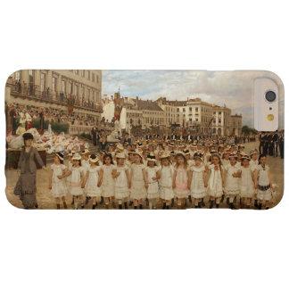 El desfile de las escuelas en enero Verhas Funda De iPhone 6 Plus Barely There
