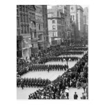 El desfile de los policías en la 5ta avenida, NYC: Postales