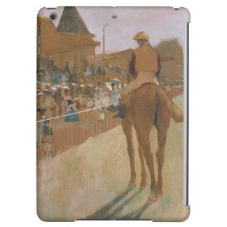 El desfile, o caballos de raza delante de los sopo