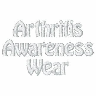 El desgaste de la conciencia de la artritis relamp sudadera bordada con capucha