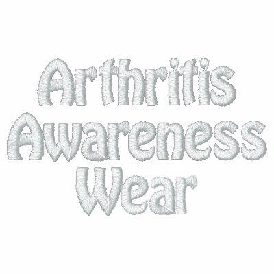 El desgaste de la conciencia de la artritis sudadera bordada