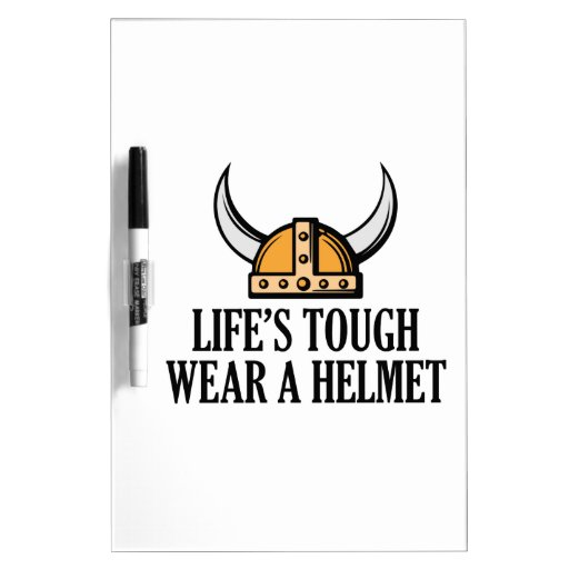 El desgaste duro de la vida un casco pizarra