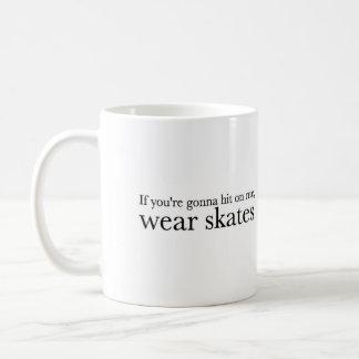 El desgaste patina taza de café