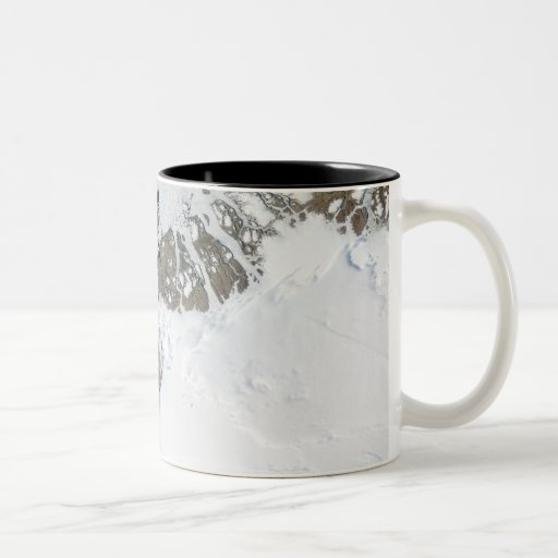El deshielo del verano taza de café