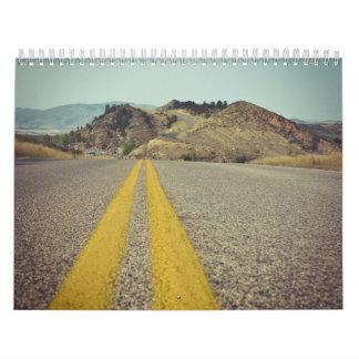 El desierto americano calendarios