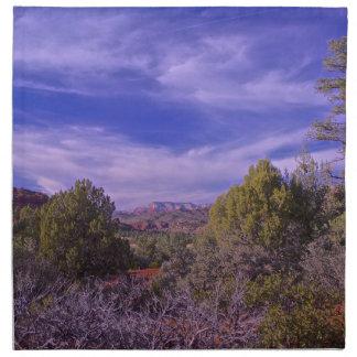 El desierto arrastra Sedona Servilletas